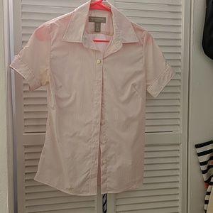 Banana republic short sleeved blouse